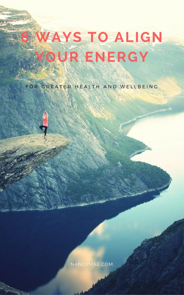 8 Simple ways to align your energy by Nancy Mae